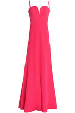 Milly | Milly Woman Stretch-crepe Gown Magenta Size 0 | Clouty