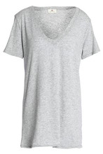 AG Jeans | Ag Jeans Woman Modal And Supima Cotton-blend Jersey T-shirt Light Gray Size M | Clouty