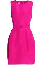 Oscar De La Renta | Oscar De La Renta Woman Silk-taffeta Dress Bright Pink Size 6 | Clouty