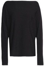 Enza Costa | Enza Costa Woman Stretch-jersey Top Black Size L | Clouty