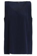 JOSEPH | Joseph Woman Silk Camisole Navy Size 36 | Clouty