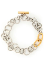 Alexander Wang | Alexander Wang Woman Silver And Gold-tone Necklace Silver Size - | Clouty