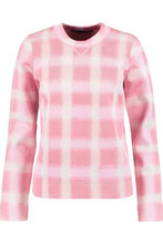Marc by Marc Jacobs | Marc By Marc Jacobs Woman Gingham Pique Sweater Baby Pink Size M | Clouty