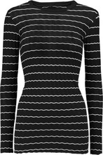 Enza Costa | Enza Costa Woman Ribbed-knit Cotton And Cashmere-blend Top Black Size XS | Clouty