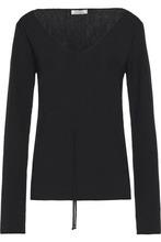 NINA RICCI | Nina Ricci Woman Wool Top Black Size M | Clouty