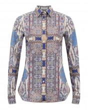 "Etro | Рубашка из хлопка с узором ""пейсли | Clouty"