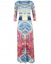 Etro | Платье-макси с узором | Clouty