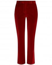 Etro | Бархатные брюки прямого кроя | Clouty