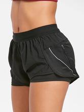 Zaful | Layered Running Shorts | Clouty