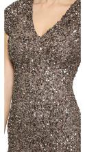 PARKER | Parker Cluster Beaded V Neck Dress | Clouty