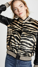 Mother | MOTHER The Faux Fur Baseball Snap Jacket | Clouty