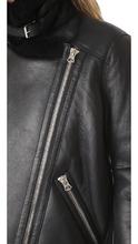 Acne Studios   Acne Studios Velocite Shearling Moto Jacket   Clouty