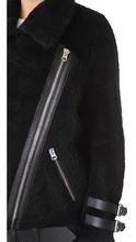 Acne Studios | Acne Studios Velocite Shearling Moto Jacket | Clouty
