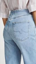 AG   AG The Etta Waistless Wide Leg Cropped Jeans   Clouty