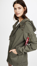 Alpha Industries | Alpha Industries Swoop Fishtail Parka | Clouty