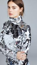 Anouki | Anouki Silver Sequin Turtleneck | Clouty