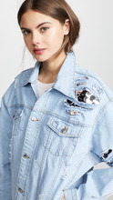 Anouki | Anouki Denim Jacket with Sequin Inserts | Clouty
