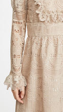 Anna Sui | Anna Sui Cupid's Clouds & Scallop Lace Dress | Clouty