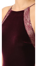 Badgley Mischka   Badgley Mischka Collection Velour Gown   Clouty