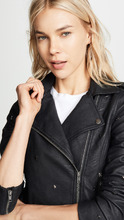 Cupcakes And Cashmere | cupcakes and cashmere Haze Vegan Leather Moto Jacket | Clouty