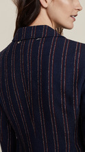 CARVEN | Carven Fitted Pinstripe Jacket | Clouty