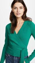 Diane Von Furstenberg | Diane von Furstenberg Knit Wrap Top | Clouty