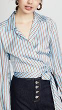Diane Von Furstenberg | Diane von Furstenberg Deep V Wrap Blouse | Clouty