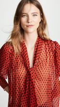 Diane Von Furstenberg | Diane von Furstenberg Tie Neck Blouse | Clouty