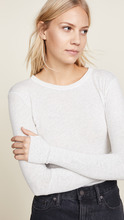 Enza Costa | Enza Costa Cuffed Crew Neck Top | Clouty