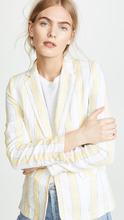 Frame | FRAME Linen Stripe Blazer | Clouty