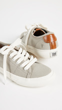 The Frye Company   Frye Gia Canvas Low Lace Sneakers   Clouty
