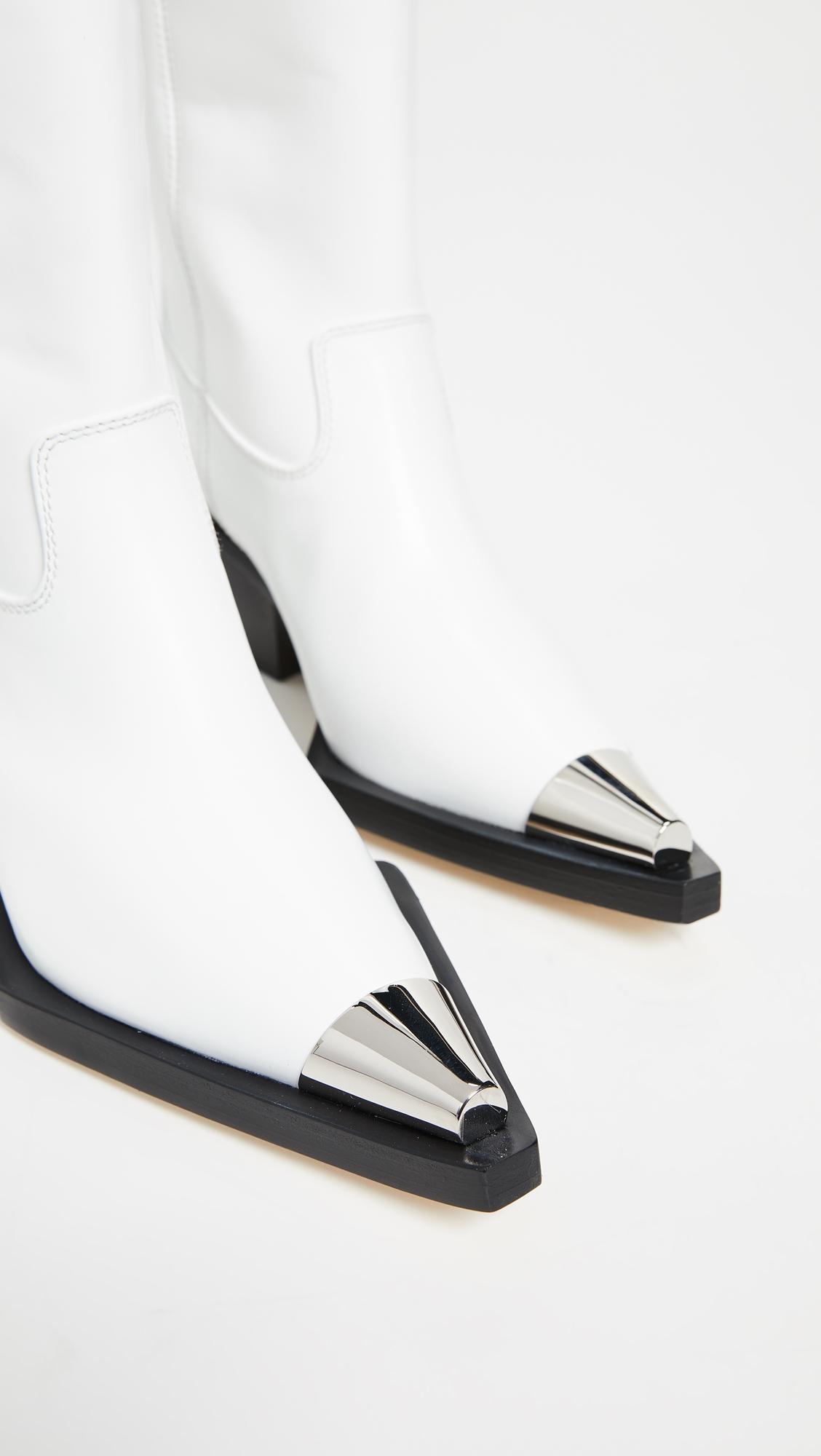 Helmut Lang | Helmut Lang Tall Cowboy Boots | Clouty