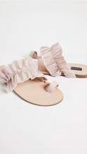Jaggar | JAGGAR Gathered Ruched Sandals | Clouty