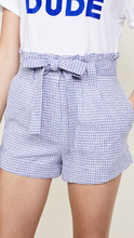 J.O.A. | J.O.A. Gingham Tie Front Shorts | Clouty
