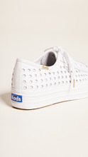 Keds | Keds Triple Kick Perforated Sneakers | Clouty