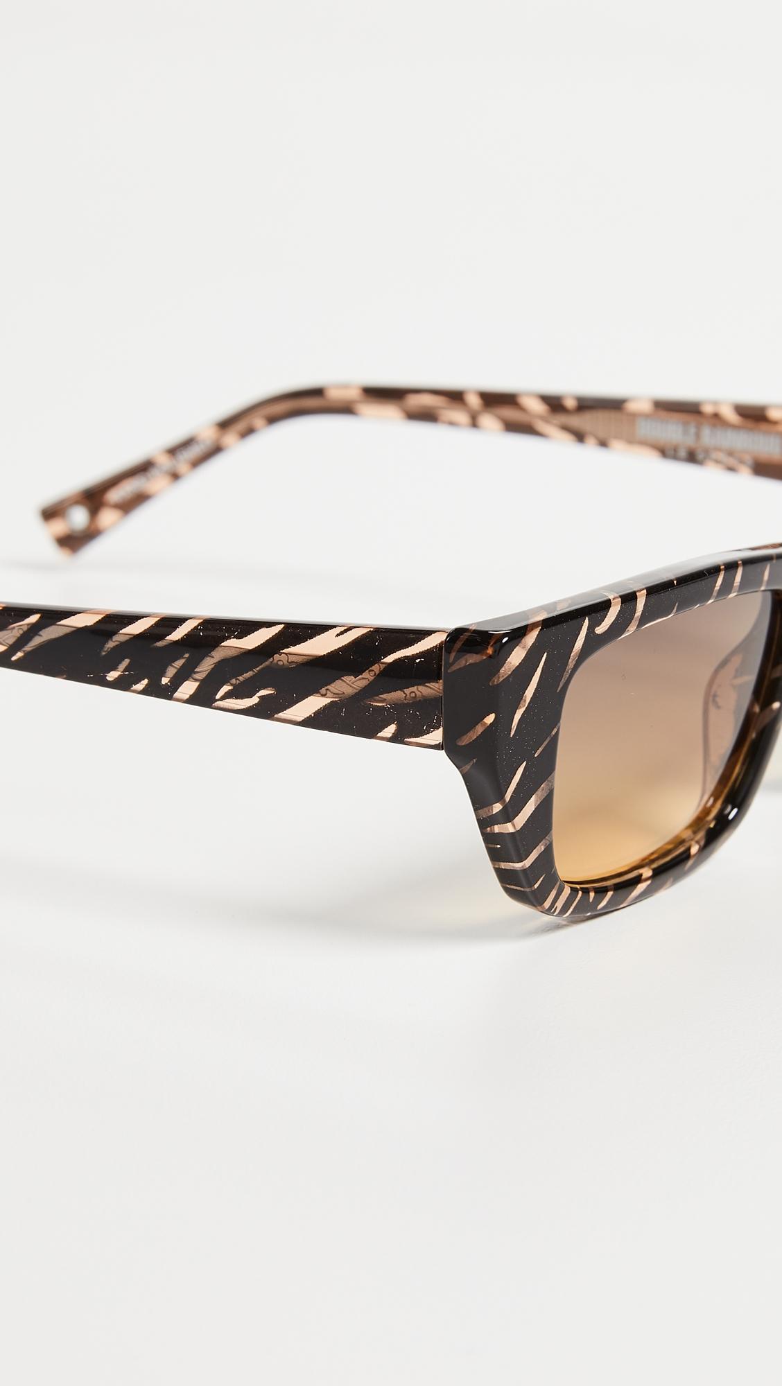 Le Specs   Le Specs x Double Rainbouu Cold Wave Sunglasses   Clouty
