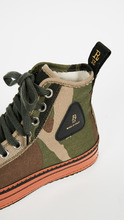 R13 | R13 Canvas High Top Sneakers | Clouty