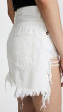 R13 | R13 Shredded Slouch Shorts | Clouty