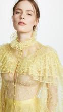 Rodarte Lace Long Sleeve Blouse