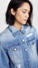 SJYP   SJYP Reverse Detail Denim Jacket   Clouty
