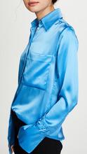 Victoria By Victoria Beckham | Victoria Victoria Beckham One Pocket Fluid Shirt | Clouty