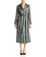 Emporio Armani | Emporio Armani Sparkling Metallic Striped Coat | Clouty
