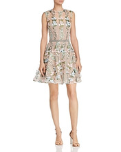 Bronx And Banco | Bronx And Banco Isola Floral-Embroidered Mini Dress | Clouty