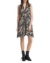 AllSaints | Allsaints Jayda Kazuno Zip-Front Dress | Clouty