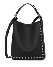 AllSaints | Allsaints Cami Small North South Leather Tote | Clouty