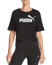 Puma | Puma Ess Cropped Logo Tee | Clouty