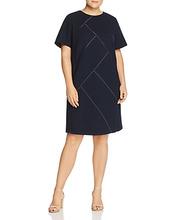 Lafayette 148 New York   Lafayette 148 New York Plus Henora Wool Shift Dress   Clouty