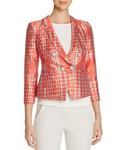 Armani Collezioni | Armani Collezioni Abstract-Print Blazer | Clouty