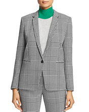 BOSS | Boss Jemaromina Glen Plaid Blazer | Clouty