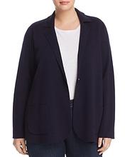 Eileen Fisher Plus | Eileen Fisher Plus Wool Knit Blazer | Clouty